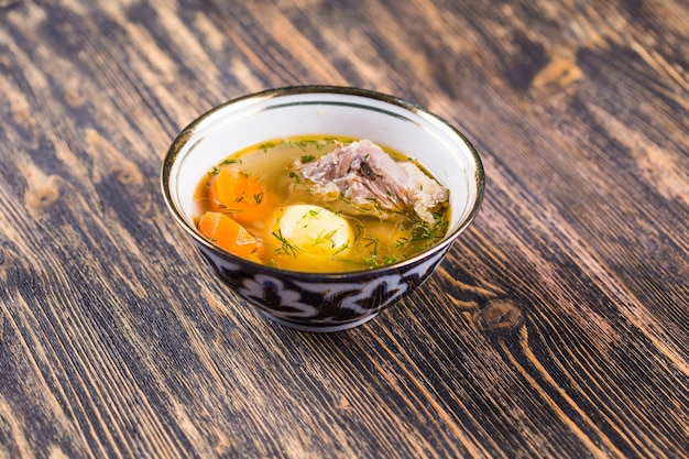 Nationale gerechten, azië, oost-concept. centraal-aziatische keuken.