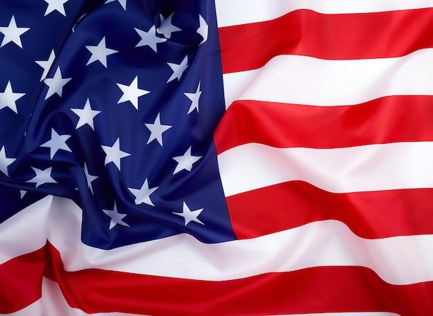 Nationale textielvlag van de verenigde staten van amerika, oppervlakte in golven