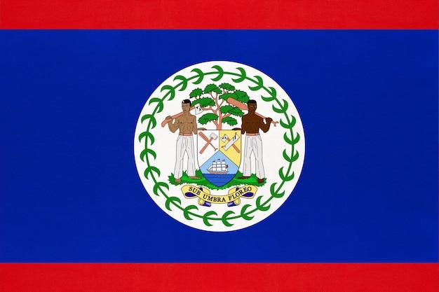 Nationale vlag van belize