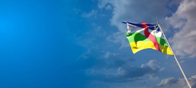 Nationale vlag van de centraal-afrikaanse republiek