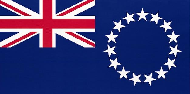 Nationale vlag van de cook eilanden