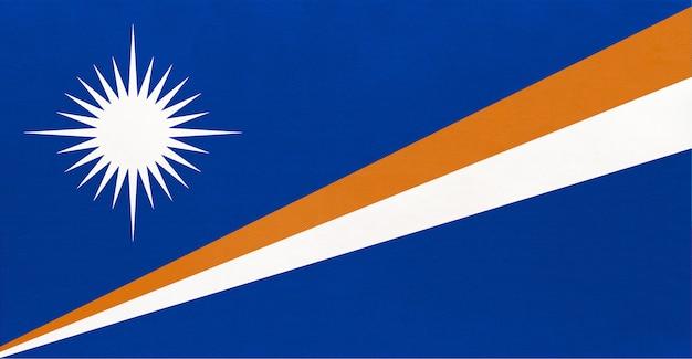 Nationale vlag van de republiek van de marshalleilanden