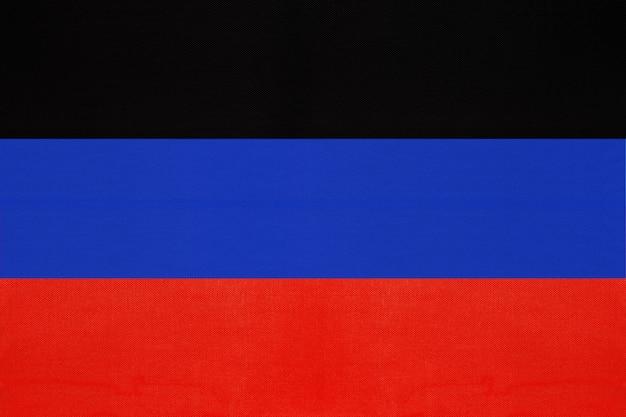 Nationale vlag van de volksrepubliek donetsk