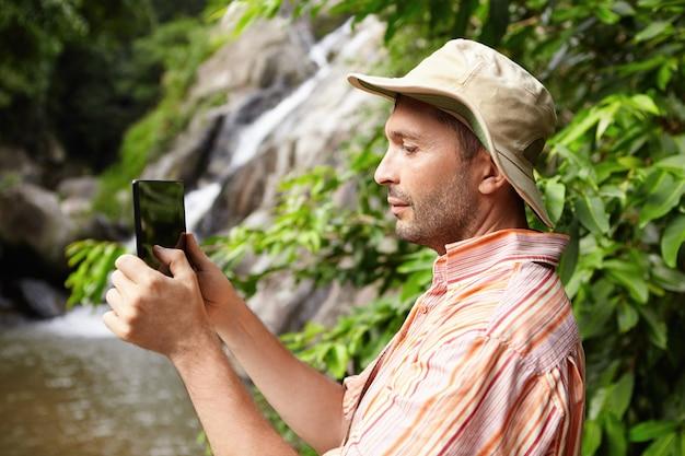 Natuur, ecologie en wetenschap concept.