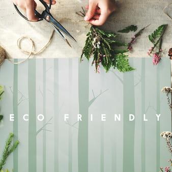 Natuur ecologie go green concept