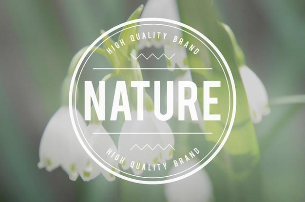 Natuur milieubehoud organisch concept