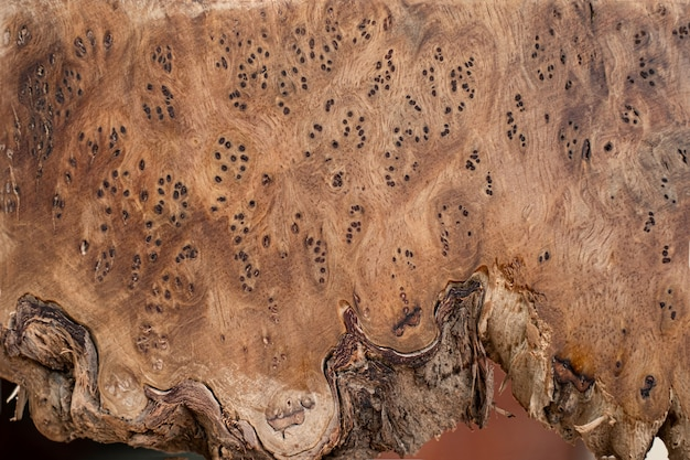 Natuur wortelnotenhout gestreept