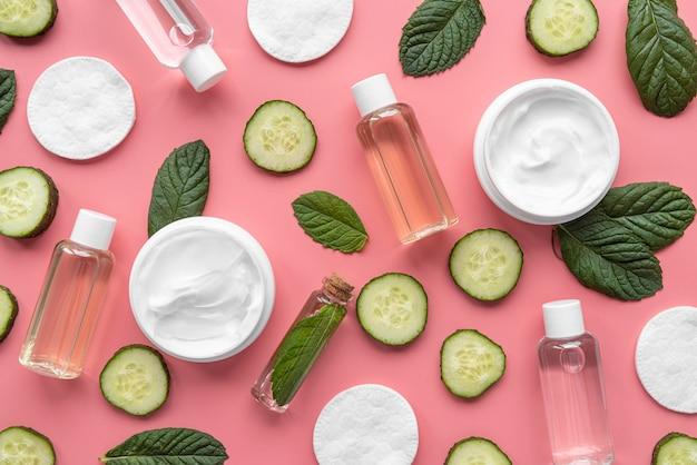 Natuurlijke behandeling met komkommer