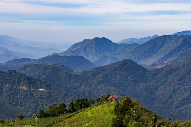 Natuurlijke berg tai wan