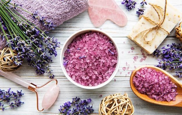 Natuurlijke biologische spa-cosmetica