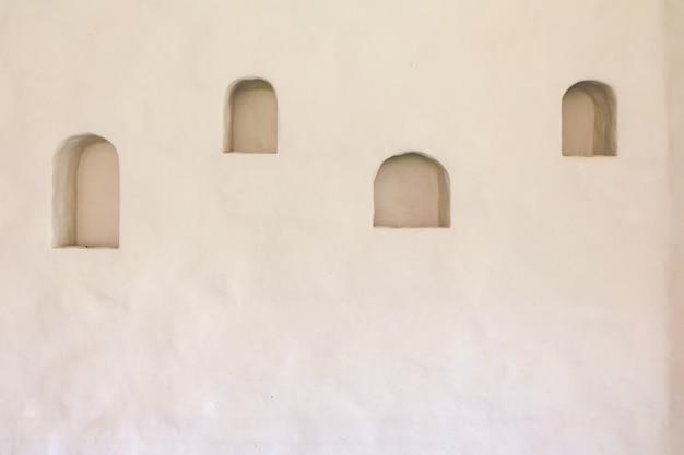 Natuurlijke bodem muur van binnenlandse bodem met slots voor plaatsing, achtergrondstructuur
