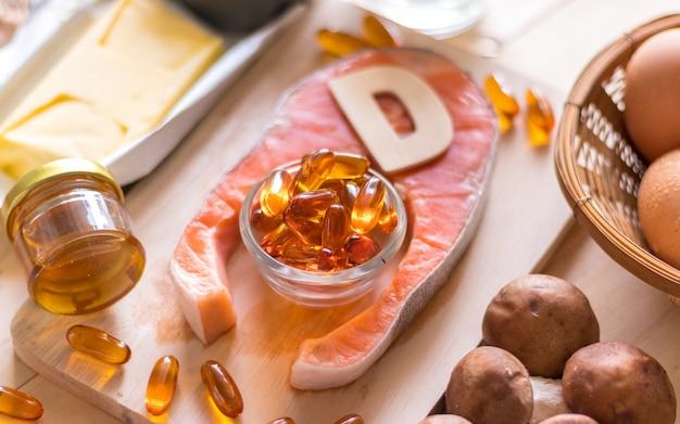 Natuurlijke bron van vitamine d
