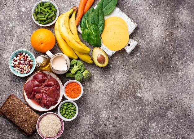 Natuurlijke bronnen van vitamine b9