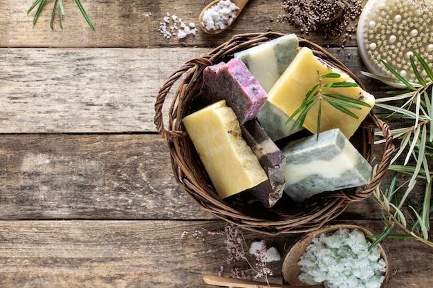 Natuurlijke cosmetische zeep