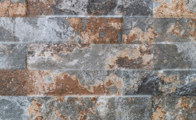 Natuurlijke gevel stenen decoratie kwartsiet achtergrondstructuur. moderne granieten stenen muur