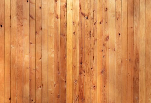 Natuurlijke houten gele achtergrond met gedroogde kwaliteitsplaten