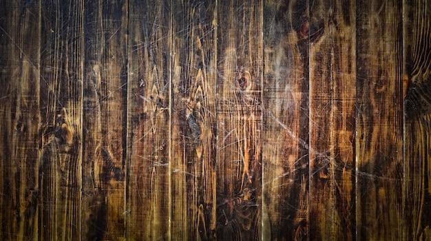 Natuurlijke houten tafel. uitzicht van boven. houten structuur.