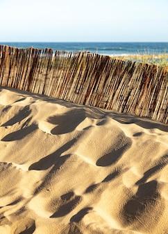 Natuurlijke hulpbron voor strandzand