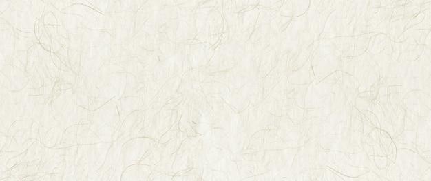 Natuurlijke japanse gerecycled papier textuur. banner achtergrond