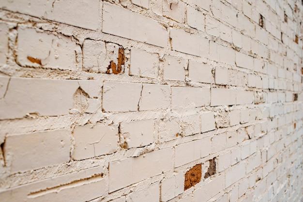 Natuurlijke lichte baksteen abstracte textuur achtergrond. bakstenen muur textuur beige