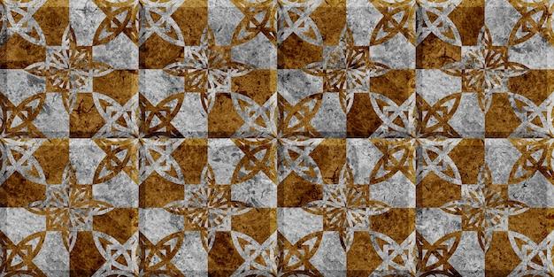 Natuurlijke marmeren tegels met patroon. naadloze achtergrond structuur
