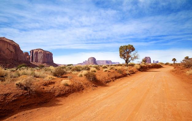 Natuurlijke omgeving van horseshoe bay, grand canyon, colorado river, monument valley. arizona, vs.