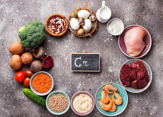 Natuurlijke producten bronnen van chroom