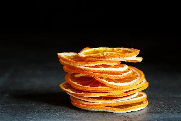 Natuurlijke sinaasappelen gedroogde gesneden gekonfijte vruchten