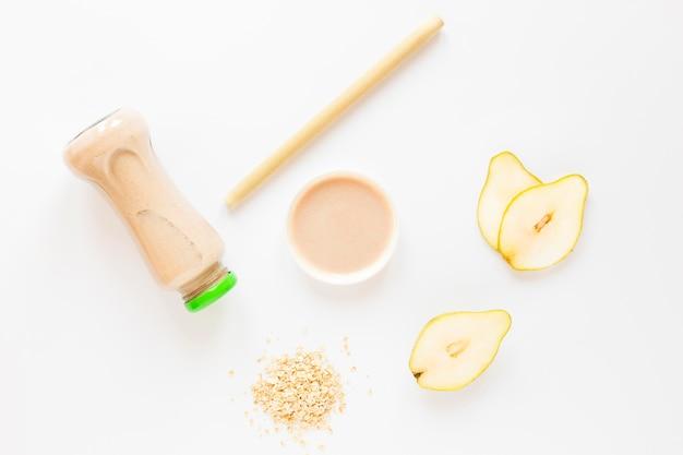 Natuurlijke smoothie met peren