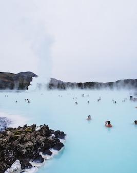 Natuurlijke thermale baden