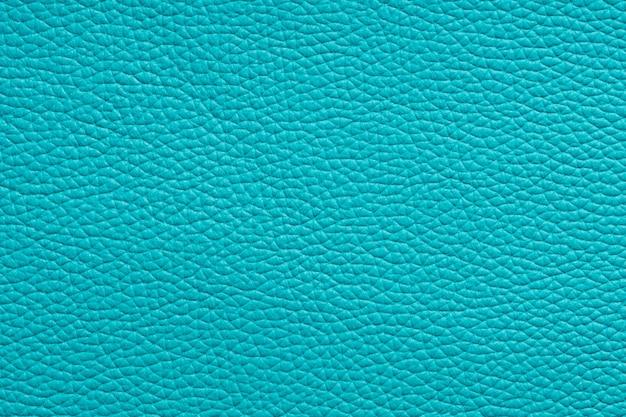 Natuurlijke turquoise lederen textuur