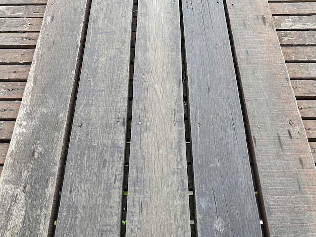 Natuurlijke verweerde houten paneel vloer textuur achtergrond.