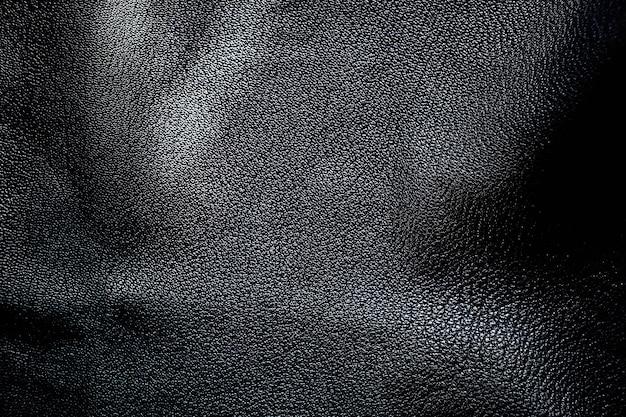 Natuurlijke zwart leder texture.