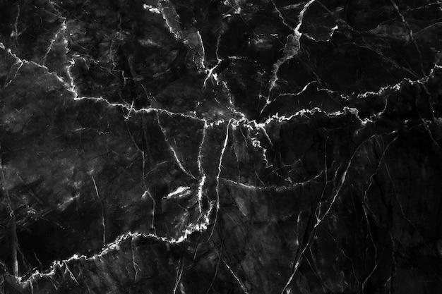 Natuurlijke zwarte marmeren textuur, luxe achtergrond