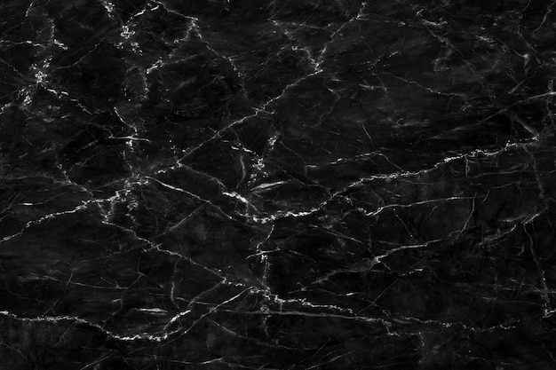 Natuurlijke zwarte marmeren textuur voor het behang luxueuze achtergrond van de huidtegel