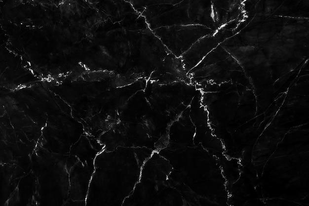 Natuurlijke zwarte marmeren textuurachtergrond