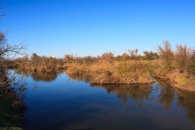 Natuurreservaat van het valle-kanaal novo