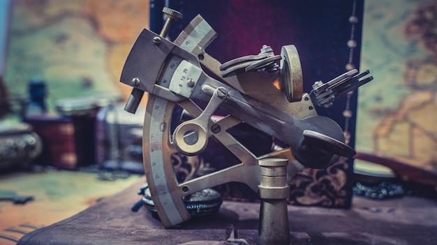 Nautisch sextant meetinstrument