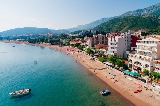 Nederzetting rafailovici budva riviera montenegro