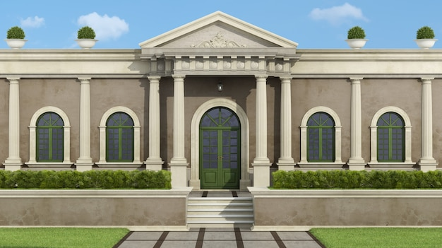 Neoklassieke villa met tuin