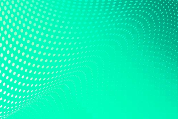 Neon mint groene halftone achtergrond