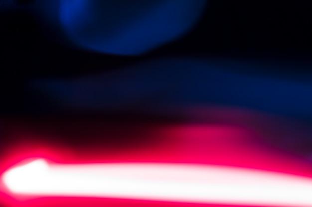 Neonlicht streak achtergrond