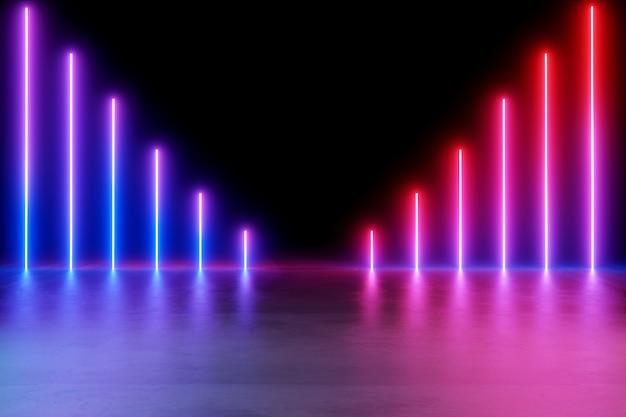 Neonlichten achtergrond.