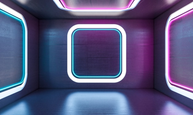 Neonlichten binnen