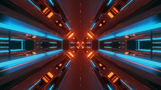 Neonlichten in verschillende vormen