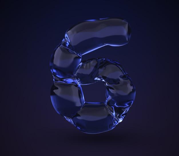 Neonwater nummer 6.