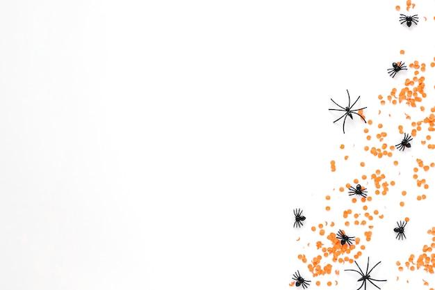 Nep spinnen op confetti
