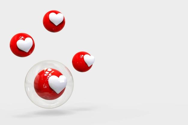 Net als liefdesreacties bubbels