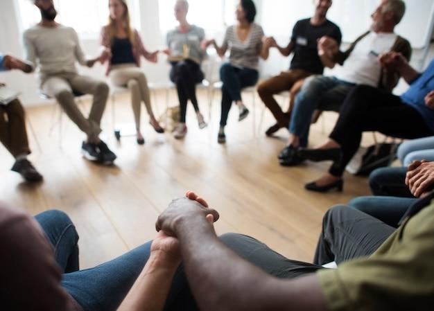 Netwerken seminar meet ups concept