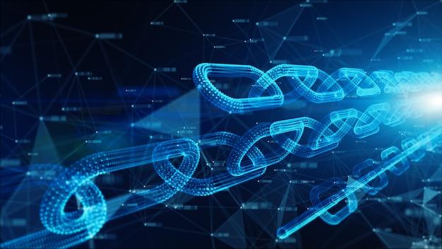 Netwerkkettingkoppelingen verbindingen
